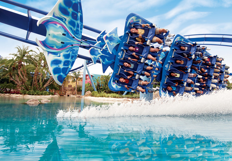 雪中看海洋主题乐园——奥兰多海洋世界乐园
