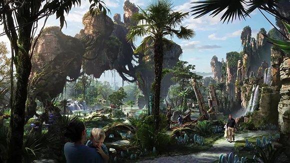 迪士尼阿凡达世界主题公园