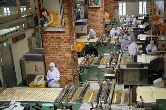 白色恋人巧克力工厂参观工业旅游